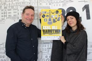 RDTH CKRL 2017 - Alain Slythe et Catherine Durand porte-paroles