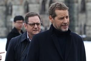 Paul Doucet et Gabriel Sabourin