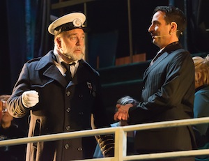 Richard Mainville (Capitaine Smith) et Denis Banville (Bruce Ismay)