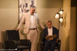 Hugues Frenette (Pignon) et Bertrand Alain (Le voisin)