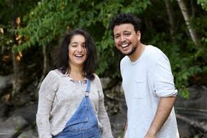 Mehdi Bousaidan et Mariana Mazza