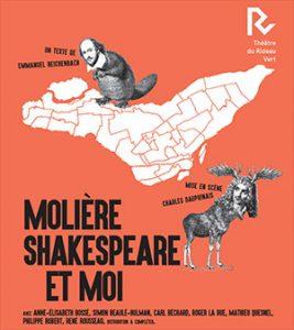 Molière, Shakespeare et moi © Photo de courtoisie