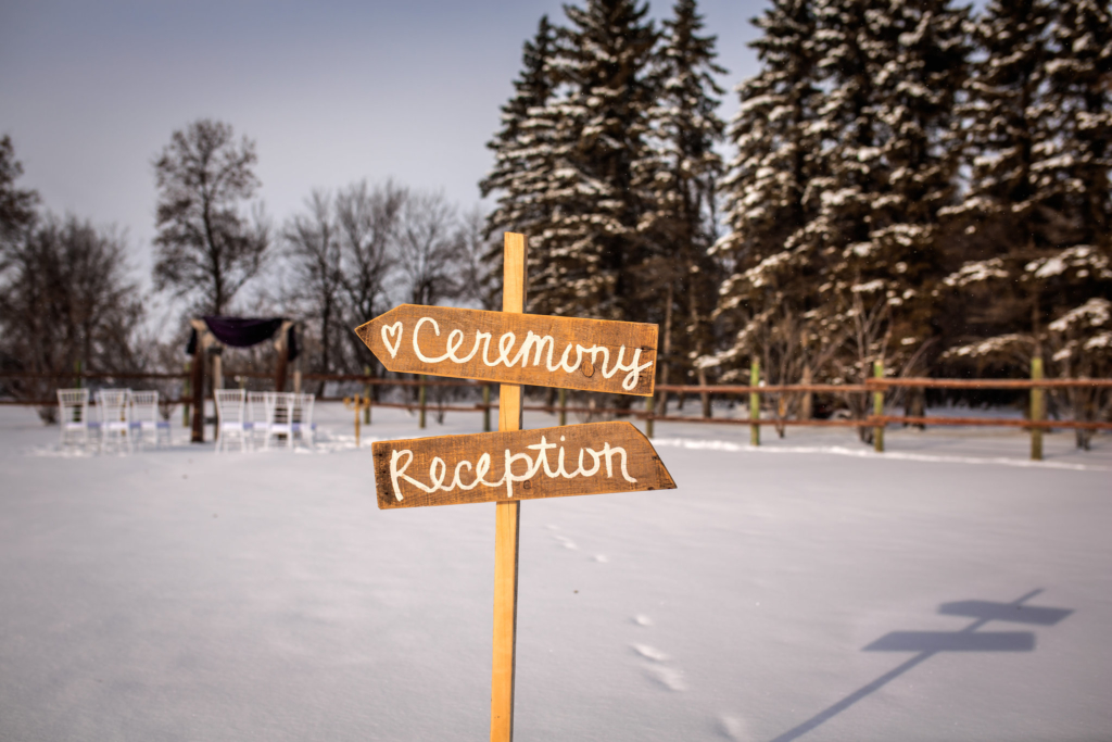 Winter Wedding - Melanie Parent Events