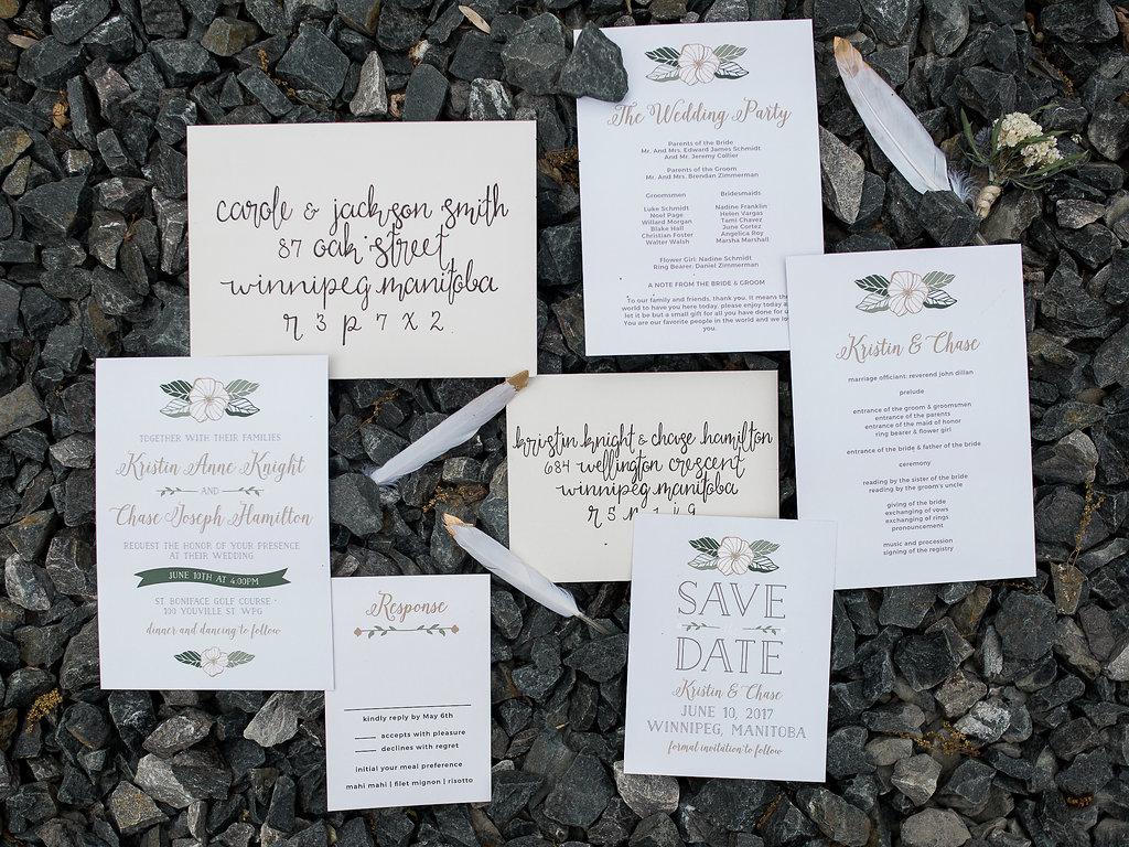 Basic Invite high quality wedding day stationery - Melanie Parent ...
