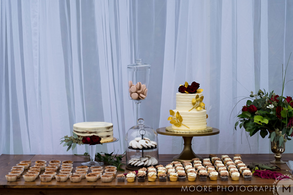 Cocktail style reception
