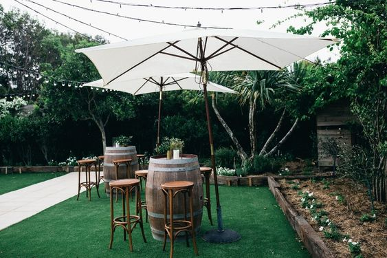 Cocktail wedding styling ideas
