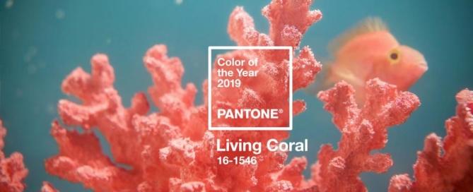Living Coral Pantone colour of the year 2019 Melanie Parent Events