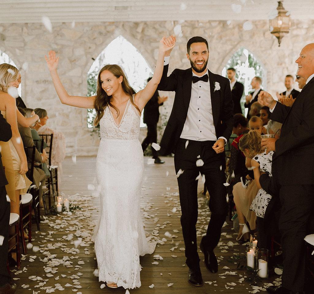 Cielo's Garden tent wedding Melanie Parent Events