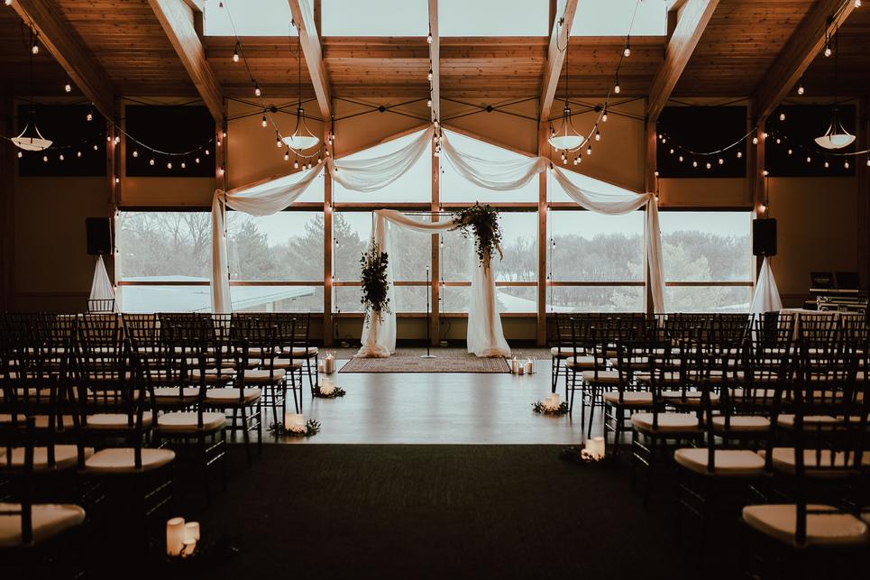 St. Boniface Golf Course wedding