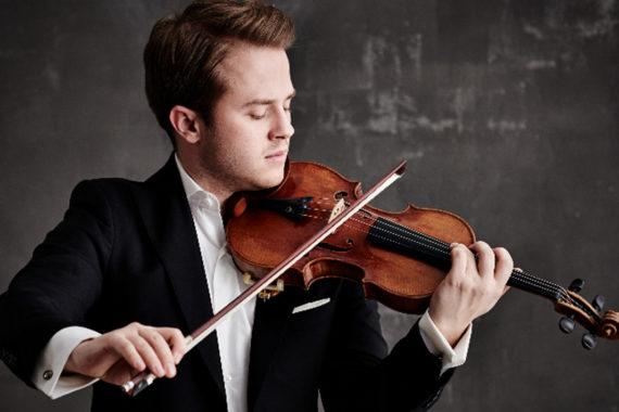 Le violoniste Tobias Feldmann et l'Orchestre symphonique de Québec au Palais Montcalm