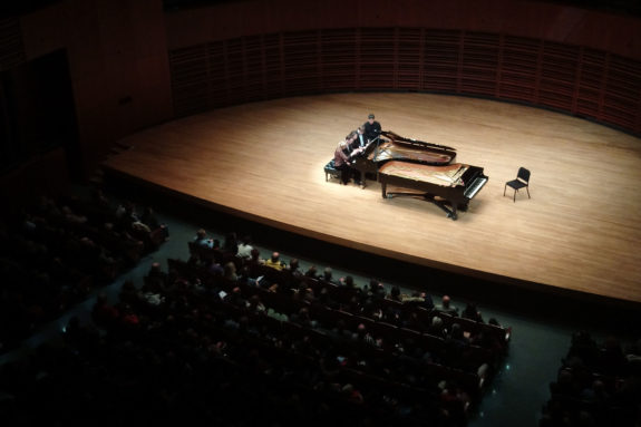Pianos Steinway du Palais Montcalm