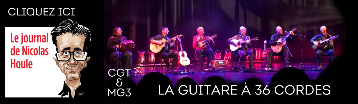 Entrevue California Guitar Trio et Montréal Guitare Trio