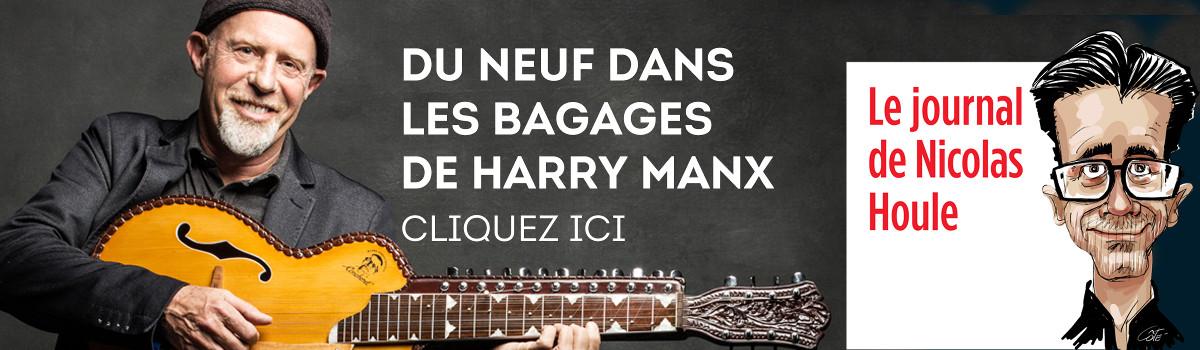 Du neuf dans les bagages de Harry Manx