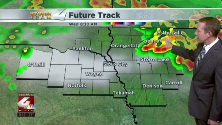 More storms and heavy rain possible for Siouxland
