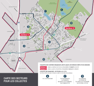 carte des secteurs