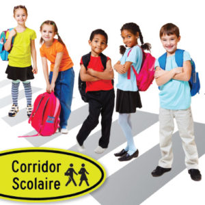 logo corridor scolaire