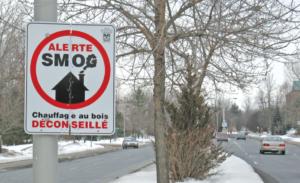 panneau de smog