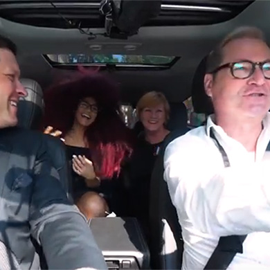 Carpool Karaoke Contessa