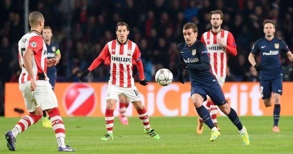 Atlético Madrid vs PSV Eindhoven