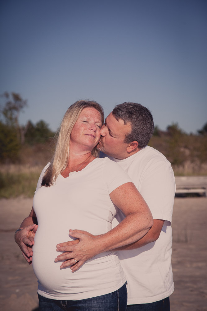 Sauble Beach maternity photography