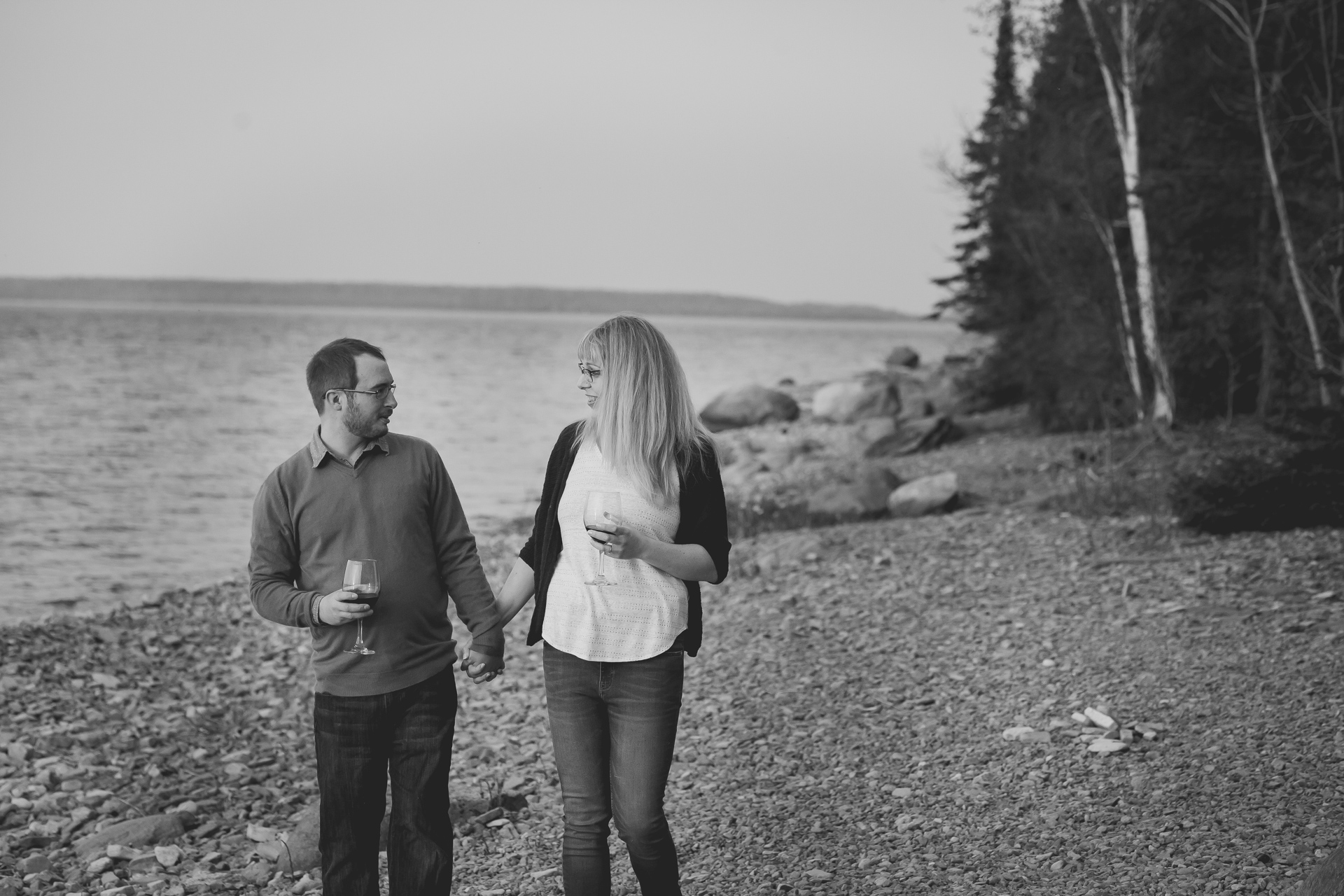 wiarton engagement photography