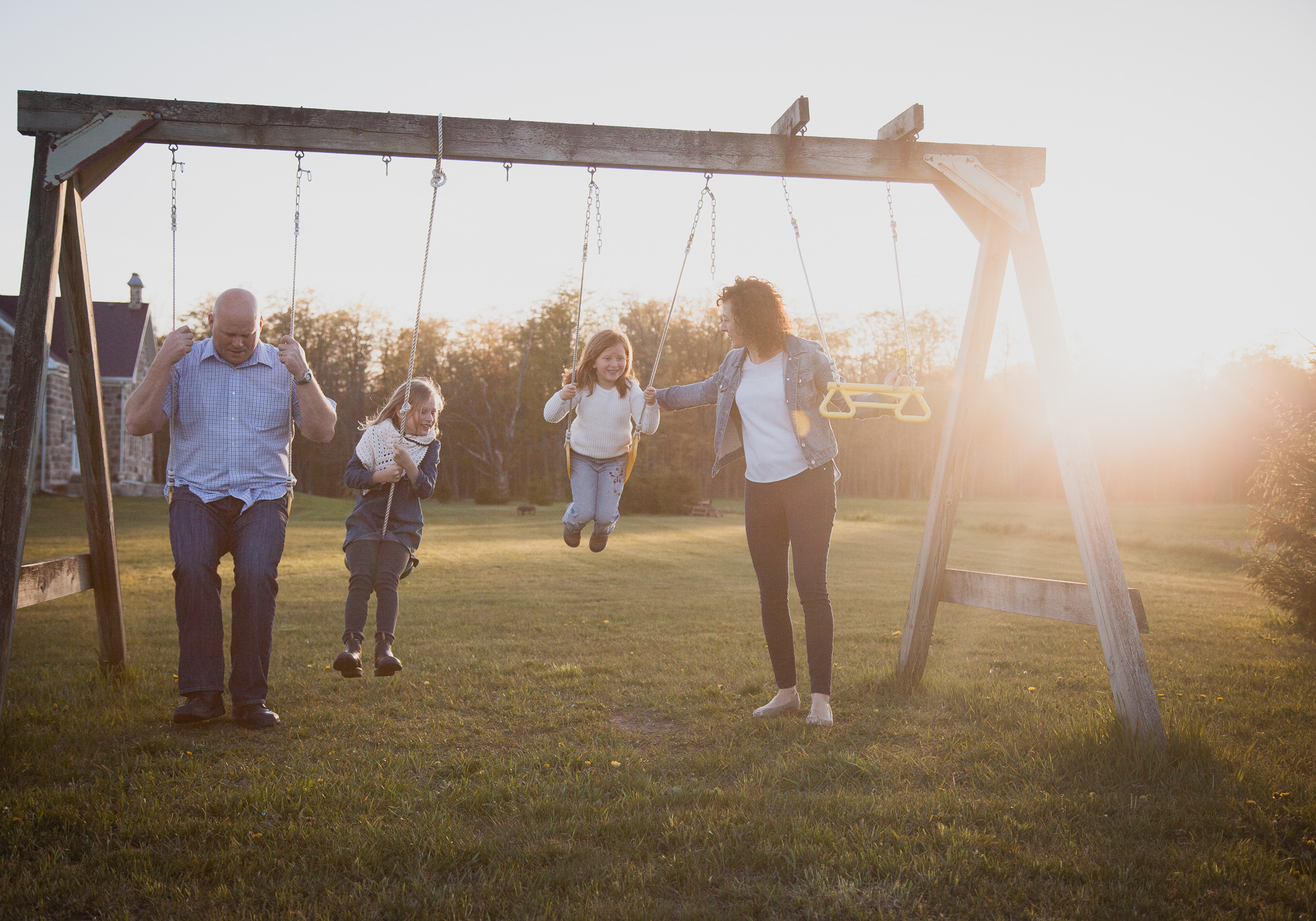Bruce Peninsula family photograph