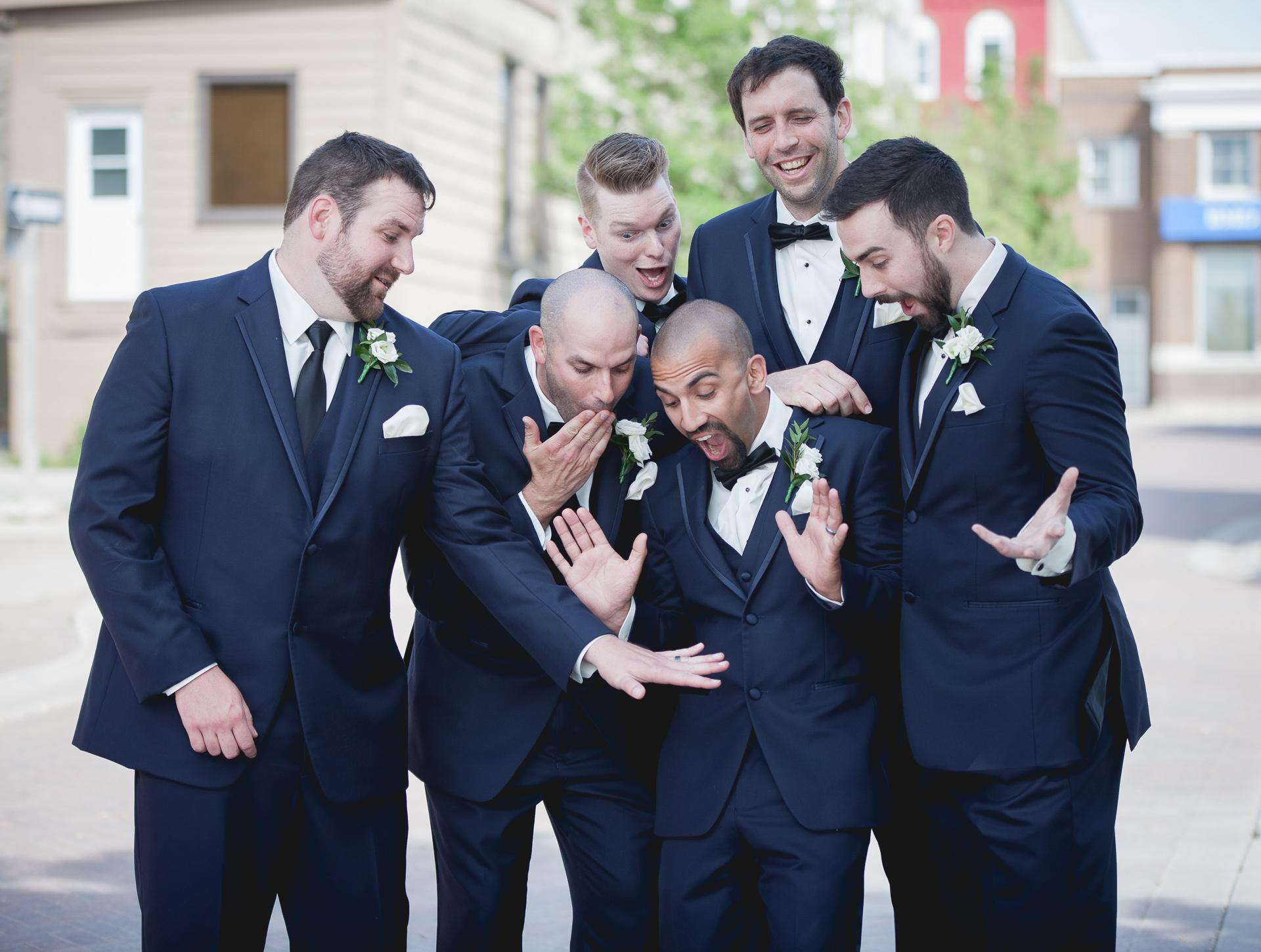kincardine groomsmen ring envy