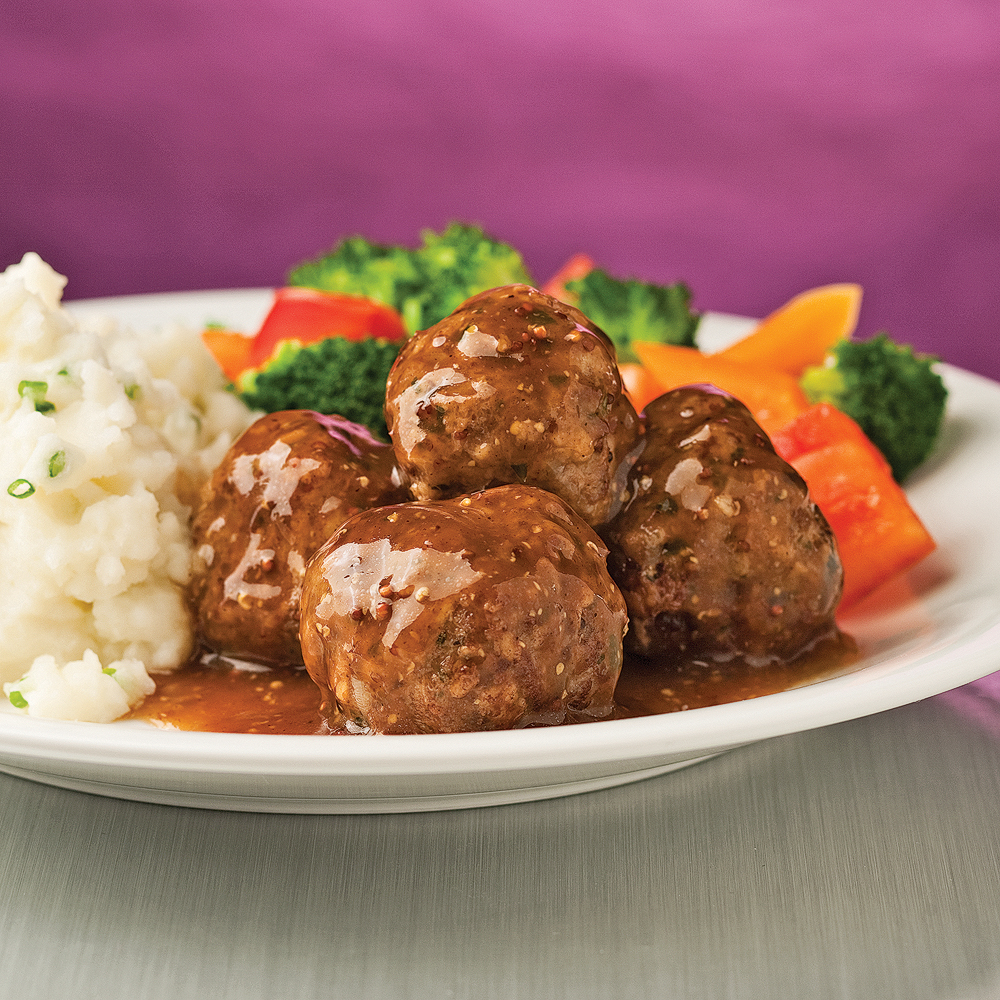 Boulettes De Boeuf Moutarde Et Miel 5 Ingredients 15 Minutes
