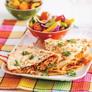 Quesadillas au thon