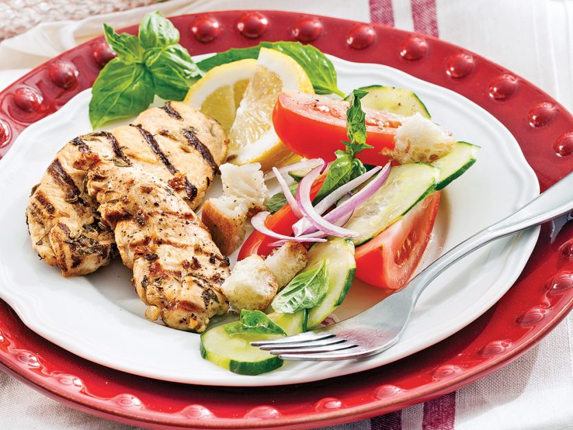 Lemon and Fine Herbs Grilled Chicken