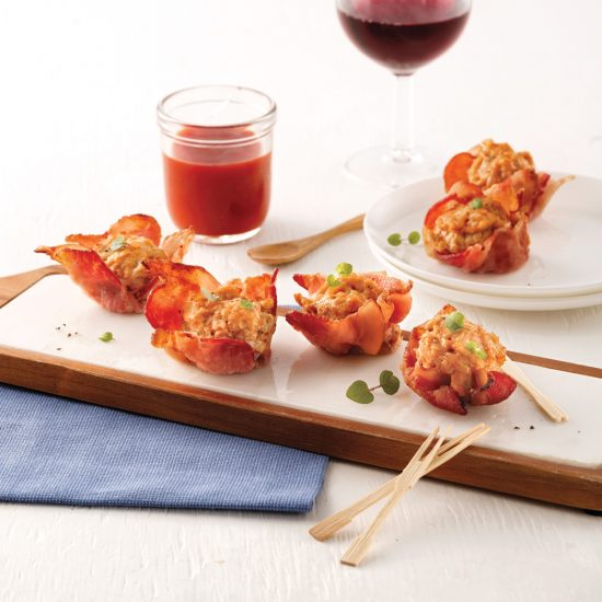 Boulettes de dindon au bacon