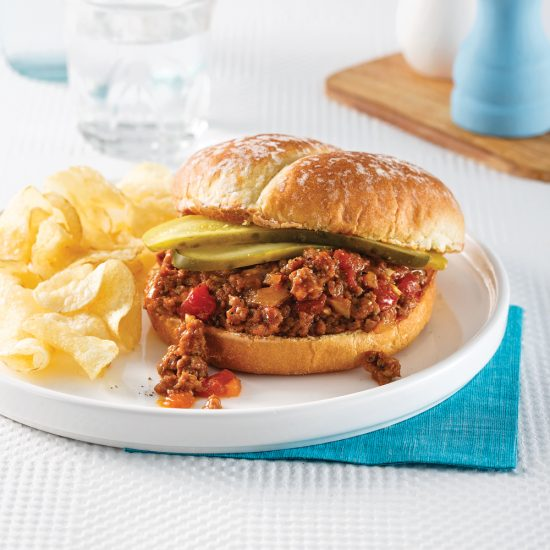 Sloppy Joe à la mijoteuse