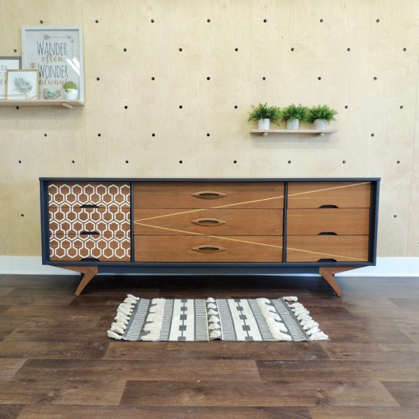 DIY: Transformation d'un buffet de cuisine pour adopter un look vintage-chic