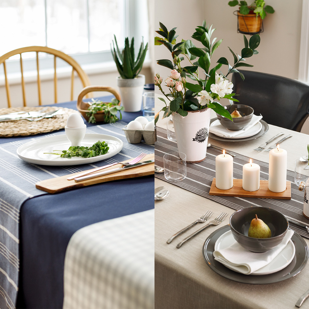 Fabricville: 1 table, 2 ambiances