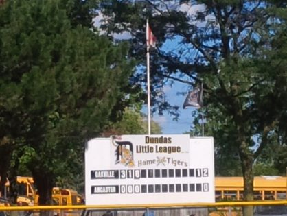 Dundas Little League needs help.