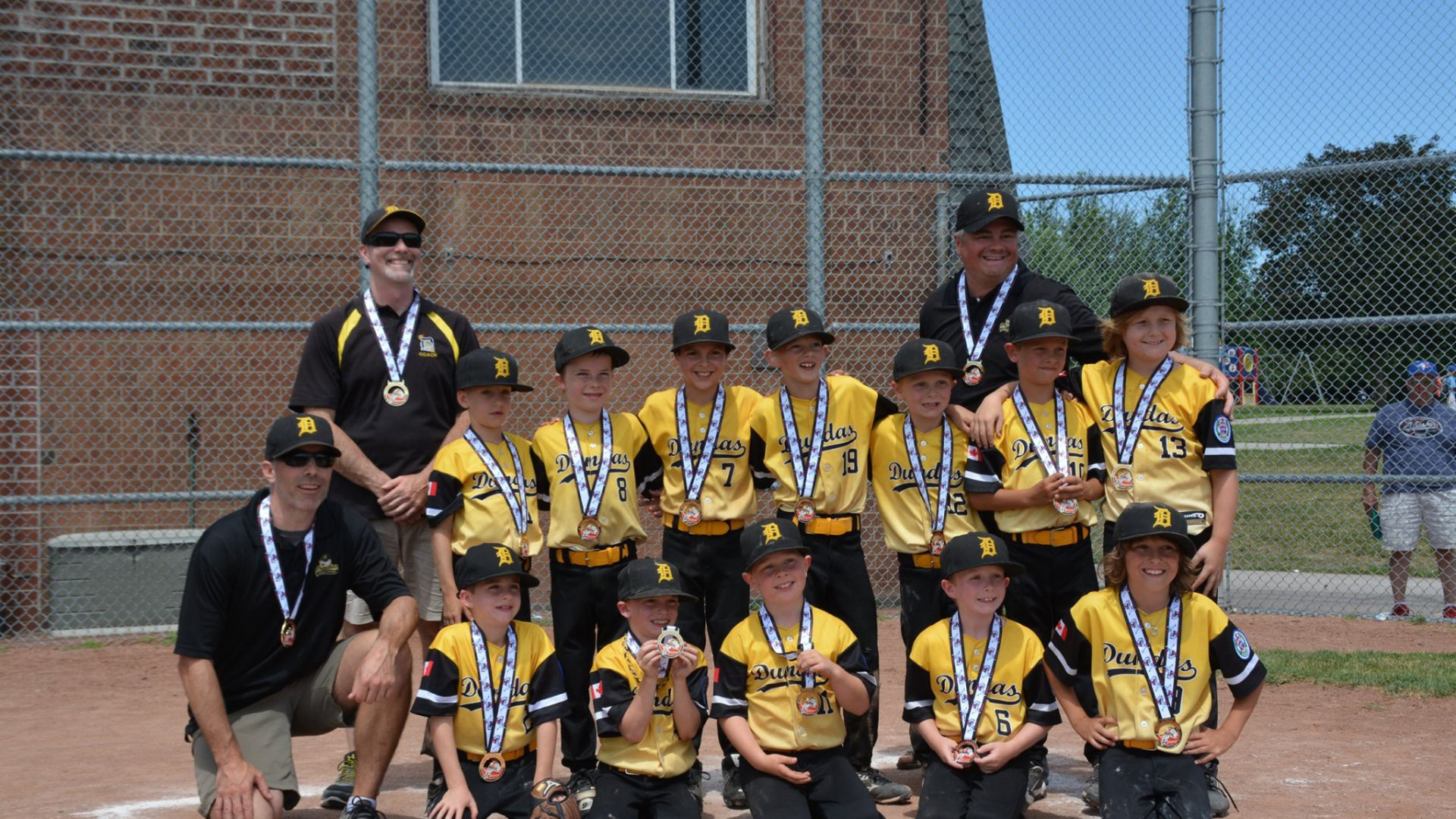 Congratulations to Dundas Little League's All-Star T-Ball team