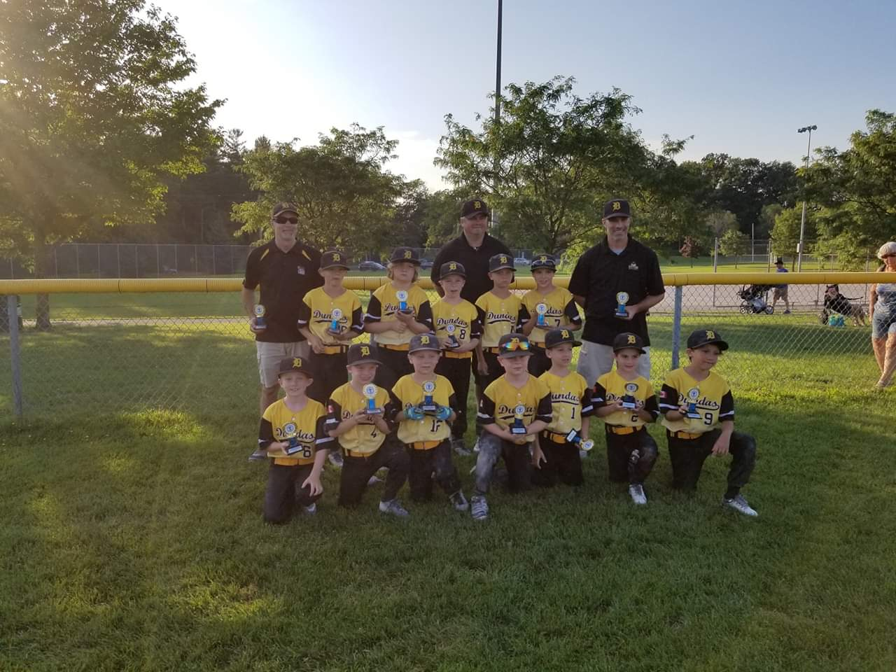 T-ball All-stars Thank You!