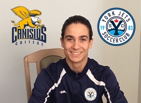 YJSC 2001 Player Alessandro Fabiano Commits to Canisius College!