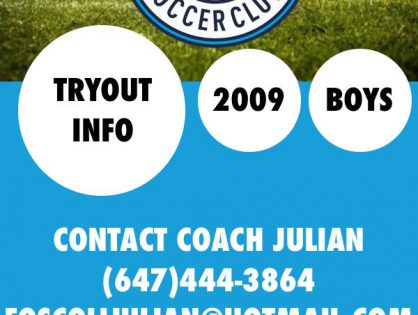 U10 Tryout Information