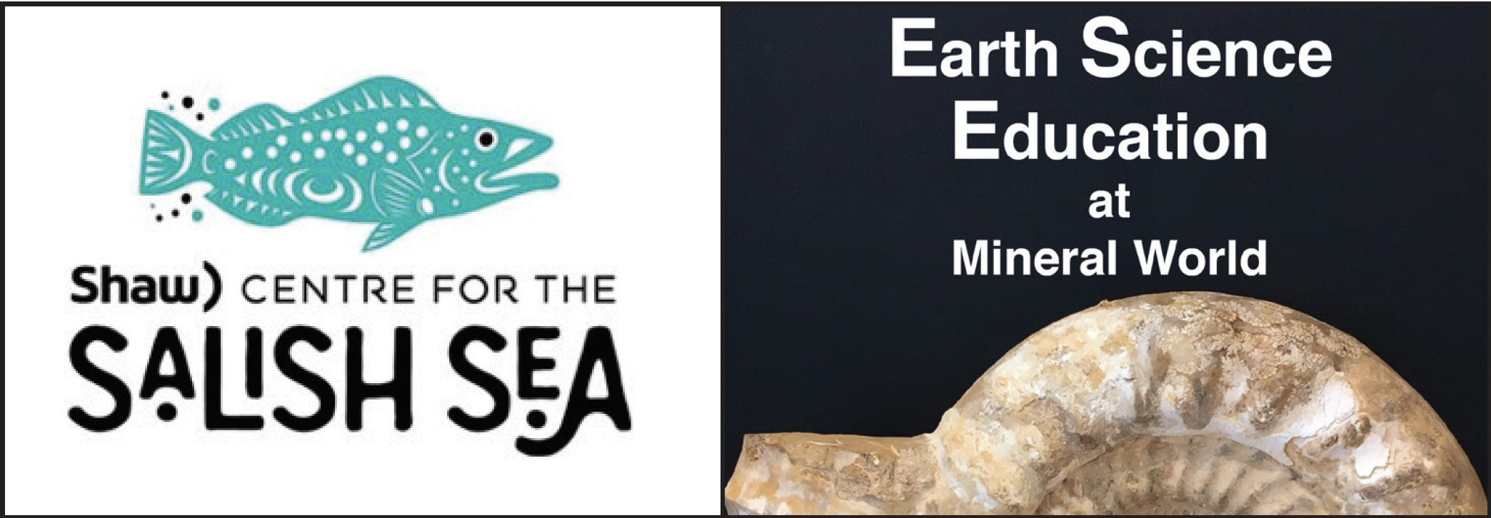 Mineral World and Shaw Centre for the Salish Sea