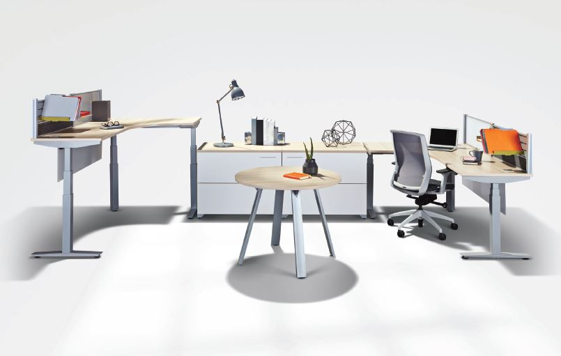 Scene Height Adjustable Desks