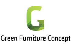 Green Furniture Concept Logo