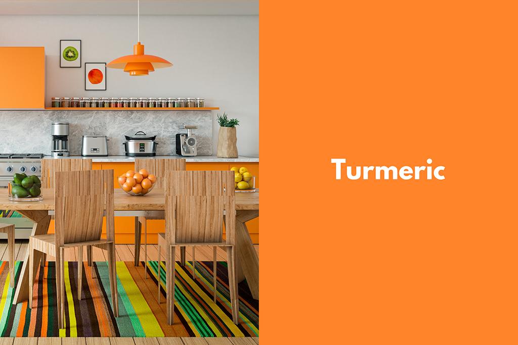 Pantone Turmeric