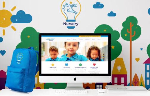 Bright Kids Nursery <BR> Website