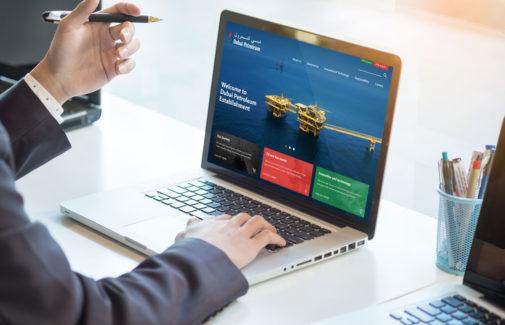 Dubai Petroleum <BR> Website