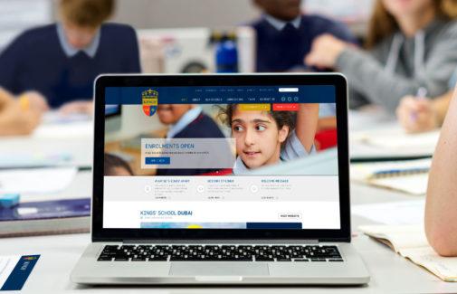 KINGS' EDUCATION <BR> Website