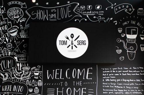 Tom & Serg <BR> Branding and Creatives