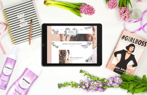 Wellness by Betadine <BR> Website