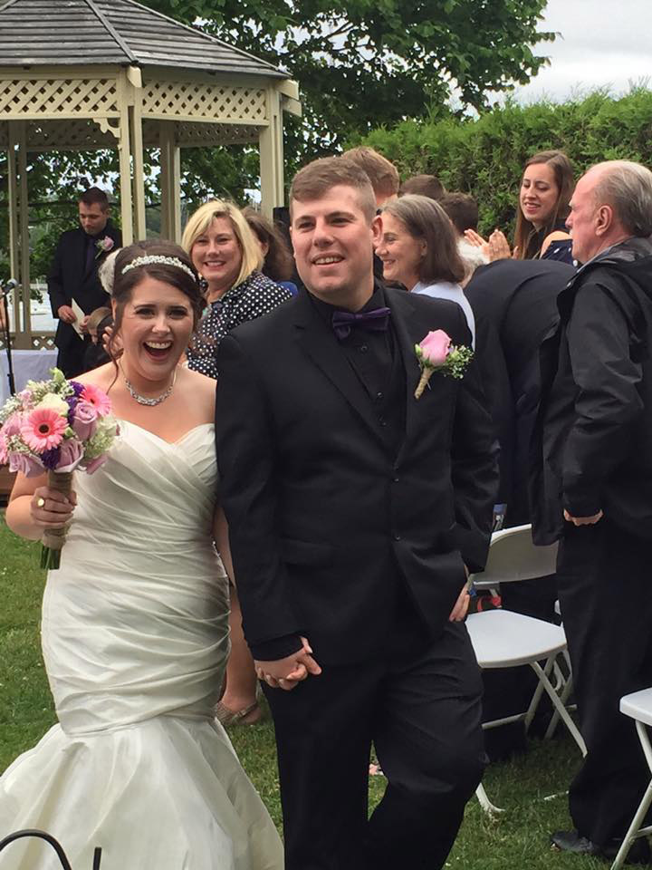 Charlotte and Mike get married