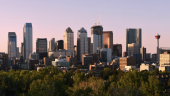 Calgary downturn, image by Kevin Cappis via Wikimedia Commons